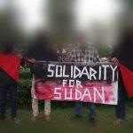 Solidaritas Anarkis Jawa Timur Untuk Pembebasan Sudan.