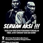"Bebaskan Dian dan Darno: ""Menuntut Pengadilan Tinggi Jawa Timur untuk Membebaskan Pejuang Lingkungan Sepat"""
