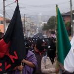 """""""Bumi Pertiwi Kita Tidak Dijual"""" Zapatista menyerang di Colima, Oaxaca, dan Mexico City"""