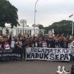 Tim Advokasi Waduk Sepat Lidah Kulon Laporkan Pengadilan Tinggi Jatim ke MA